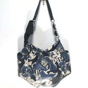 Simply Vera Vera Wang Leather Floral Bag w/bow 🖤